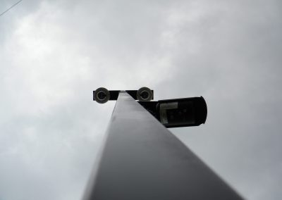 Mobile Safe Watch Surveillance Trailer